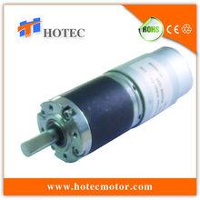 8mm shaft 12v low voltage heavy duty planetary gear 36mm diameter gear motor