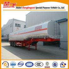 42CBM fuel tanker semi trailer,container transport semi trailer,flatbed semi trailers for sale