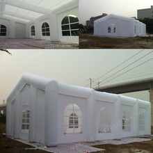 Hot sale commercial inflatable cube tent/large inflatable tent