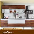 Diseño personalizado l- en forma de gabinete de la cocina