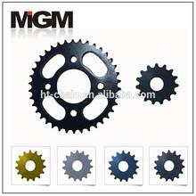 Motorcycle sprocket manufacture,bajaj discover 135 chain sprocket,chain and sprocket design