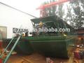 Transporte de arena barco/barcazas pequeño con cinta transportadora de arena