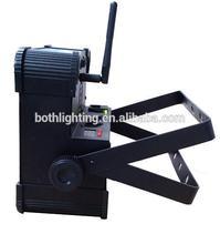 Flat led night light,Black Case 9 Lens RGB TRI Color 3in1 DMX LED Slim Par
