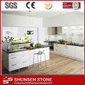 qualidade superior de pedra artificial de quartzo com fogão bancada pia sqc008