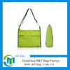Blank reusable personalized folding men's sports shoulder bag