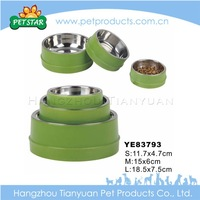 2015 Cheap Wholesale Stainless Steel Dog Bowl