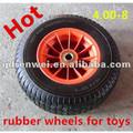 2014 sıcak satış yüksek kaliteli 4 inç hafif küçük oyuncak için lastik tekerlekler