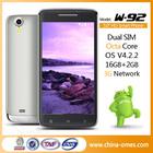 WCDMA 3G Dual SIM 1.7GHz 2GB RAM MTK6592 Smartphone Octa Core