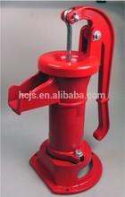 Garden Pitcher Pump in Red, Cast Iron Pitcher Pump, Hand Water Pump