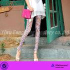 2014 beautiful pattern tattoo slimming leggings