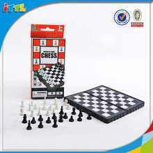 Kids Intellect Playing Chess Game Plastic International Chess Game