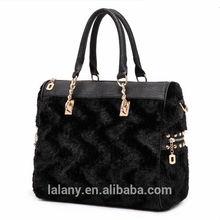 Comfortable and soft woman pu handbag with competitive price