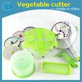 hortalizas y frutas de la máquina de corte