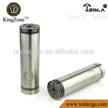 Patented tesla mechanical mod, new tesla m7,tesla vaporizer m7 mod