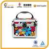 colorful flower pattern beauty case, aluminum beauty case,beauty case cosmetic