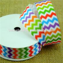 Beautiful printed grosgrain ribbon