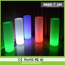 led light bar table led waterproof light rechargeable battery remote control 16 color changing lighting high bar cocktail table