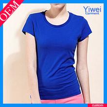 2014 OEM factory cotton t shirt sport women t-shirts