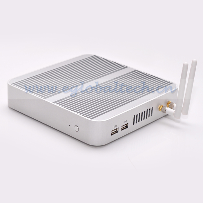 XBMC Support MINI PC With Intel Core i5 Integrated HD 4000 Graphics Fanless Mini Smart Computer