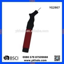 Compact double action air pump hand pump soccer pump fast inflating balls football soccer (YG2907)
