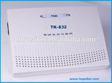 616 lines using special keyphone analog PBX system