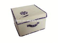 Christmas gift fabric storage stool