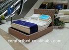 Bedroom Furniture Electric Bed with Massage Function okin motor 4 zones adjustable