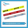 EN71 Standard Promotion Gifts High Visibility Fashion Reflective PVC Slap Band