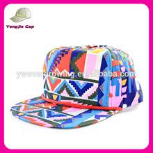Custom wholesale plain cheap customize printing fresh prince snapback hat