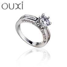 2014 cute cheap used engagement rings with Austria crystal jewerly 40154