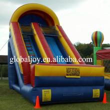 Kids Outdoor Inflatable Double Lane Slip Slide/Inflatable Dry Slide Wholesale