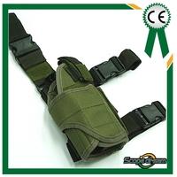 Universal Tactical Drop Leg Light Pistol RH Holster OD revolver holsters