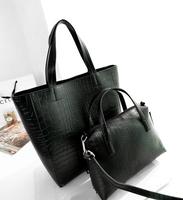 Free sample New Fashion Handbags Ladies Crocodile Tote Bag Shoulder Bag Women 2013 from China Factory
