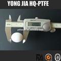 Suavemente alta funcional ptfe plástico sólido ou oco bola em dia 25.4mm