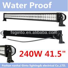 """240w led light bar, 41.5"""" led work light bar, led lamp truck"""