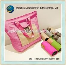 extra large nylon foldable tote bag