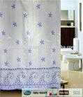 SIMPLE DESIGN BATHROOM POLYESTER SHOWER CURTAIN