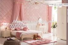 Lovely girls series bedroom set royal princess furniture