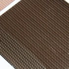 carbon weave pu synthetic leather & pu leather material for shoes