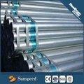 Tubulação de aço galvanizado 4 polegadas/aço galvanizado tubo de manga