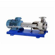 high flow pump for high viscosity media