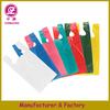 2014 High Quality Printed plastic hdpe t-shirt bag for shopping