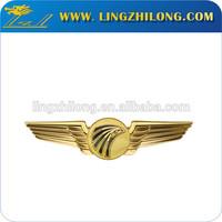 Custom metal pilot wings pin badge maker