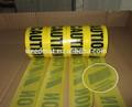 Pe tela tejida de barrera de tráfico de la cinta, cinta de precaución, cinta de advertencia