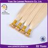 Alibaba Express New Product 7a Grade Italian Keratin Glue 100% Remy Prebonded Hair Extensions