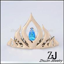 Frozen Elsa Floral Tiara Crown