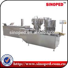 straight oral liquid filling linkage unit