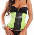 hot fashionable design sexy popular western women style latex waist corsets
