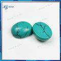 favorable 7x9mm verde turquesa de precios de piedra verde oval cabujón forma