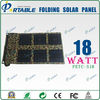 18W portable solar panel charger solar charger for mobile